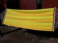Гамак с планкой тканевый «Дачный»