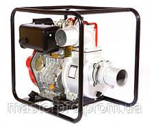Мотопомпа дизельная Weima WMCGZ100-30E, фото 3