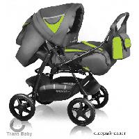 Детская коляска Яся с конвертом 39/Q1, Trans Baby