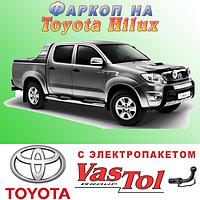 Фаркоп Toyota Hilux (прицепное Тойота Хайлюкс), фото 1