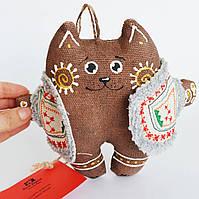 Кот в жупанчике. Новогодний сувенир.