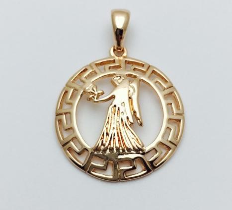 Знаки зодиака, 018 медицинская сталь+ювелирный сплав