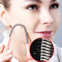 Эпилятор ручной для лица пружинка Epistick для удаления волос на лице епилятор
