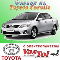 Фаркоп Toyota Corolla (прицепное Тойота Королла), фото 1