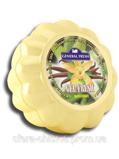 Гелевый освежитель воздуха General Fresh, ваниль