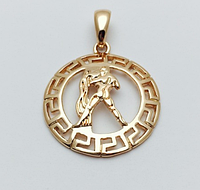 Знаки зодиака, 024 медицинская сталь+ювелирный сплав