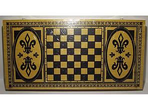2в1. Шахматы, нарды. БАМБУК (50 х 49 см). I4-18