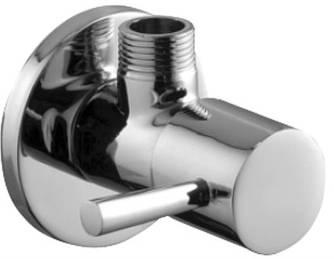 """Armatura: Кран водяной угловой, проточный для стоячих смесителей, ручка типа """"балка"""""""