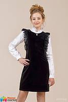 Школьный сарафан Зиронька 40-8007-1, цвет черный