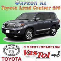 Фаркоп Toyota Land Cruiser 200 (прицепное Тойота Ленд Крузер 200), фото 1