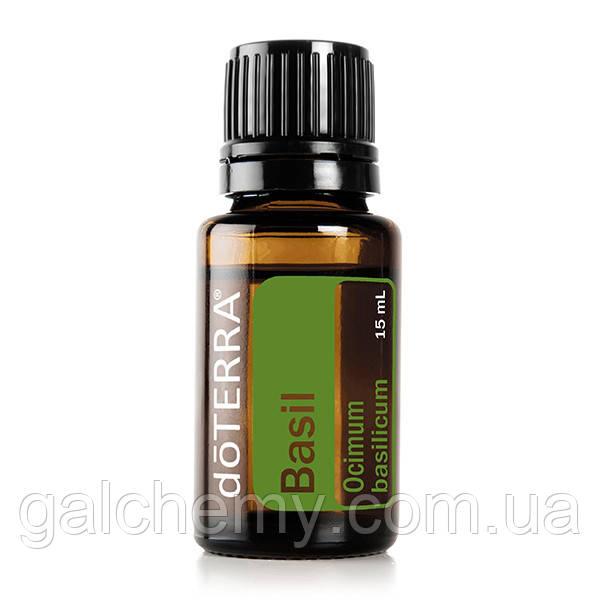 Basil Essential oil/ Базилик (Ocimum basilicum), эфирное масло, 15 мл