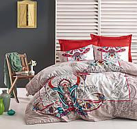 Набор постельного белья сатин печатный 200х220 Cotton box Anita Bej 4e93131bf70c6