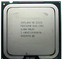Процессор 2 ядра Pentium E2220 2.4 Ghz LGA775 2мб