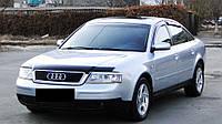 Дефлектор капота (мухобойка) Audi A6 C5 ,4B (ауди а6 с5, 4б) 1997-2004 Vip Tuning