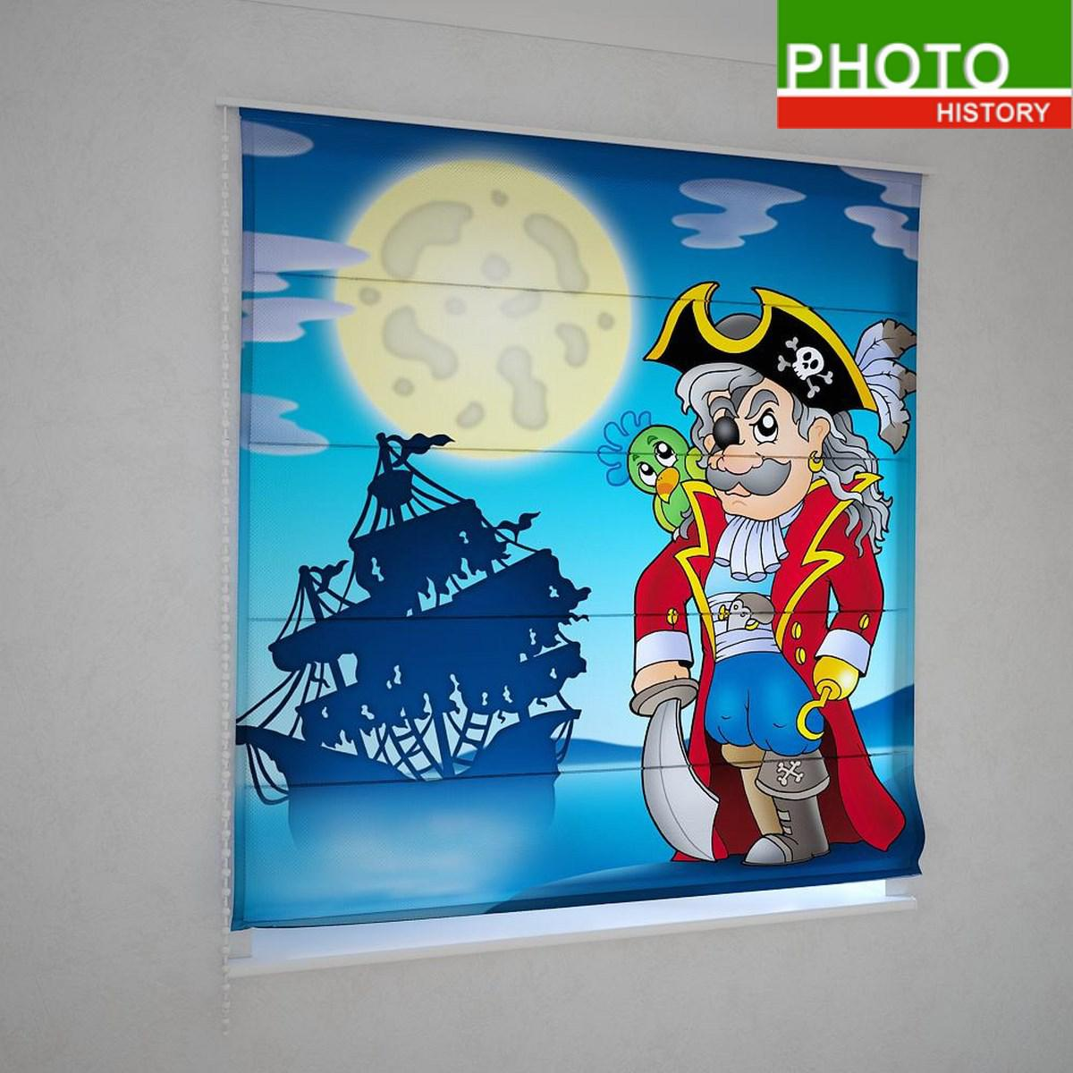 Римские фотошторы сказочный пират
