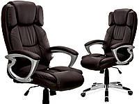 Офисное кресло BOSSE BBR коричневое