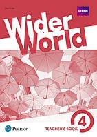 Wider World 4 Teacher's Book with DVD