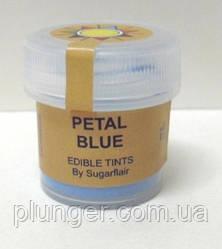 """Краситель пищевой сухой """"Голубой"""" 5мл Sugarflair"""
