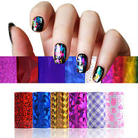 Маникюрный набор Fab Foils, украшения для ногтей