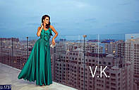 Вечернее платье U-1737 (46, 48, 50, 52, 54) — купить Вечерние платья XL+ оптом и в розницу в одессе 7км