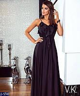 Вечернее платье U-1740 (46, 48, 50, 52, 54) — купить Вечерние платья XL+ оптом и в розницу в одессе 7км