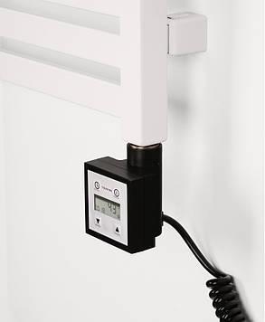 Terma KTX-3 Black з кабелем, ТЭН для полотенцесушителя