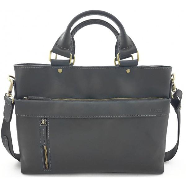 Кожаная мужская сумка для документов Vatto