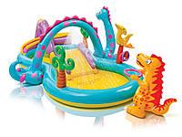 Надувной бассейн Intex Dino 57135
