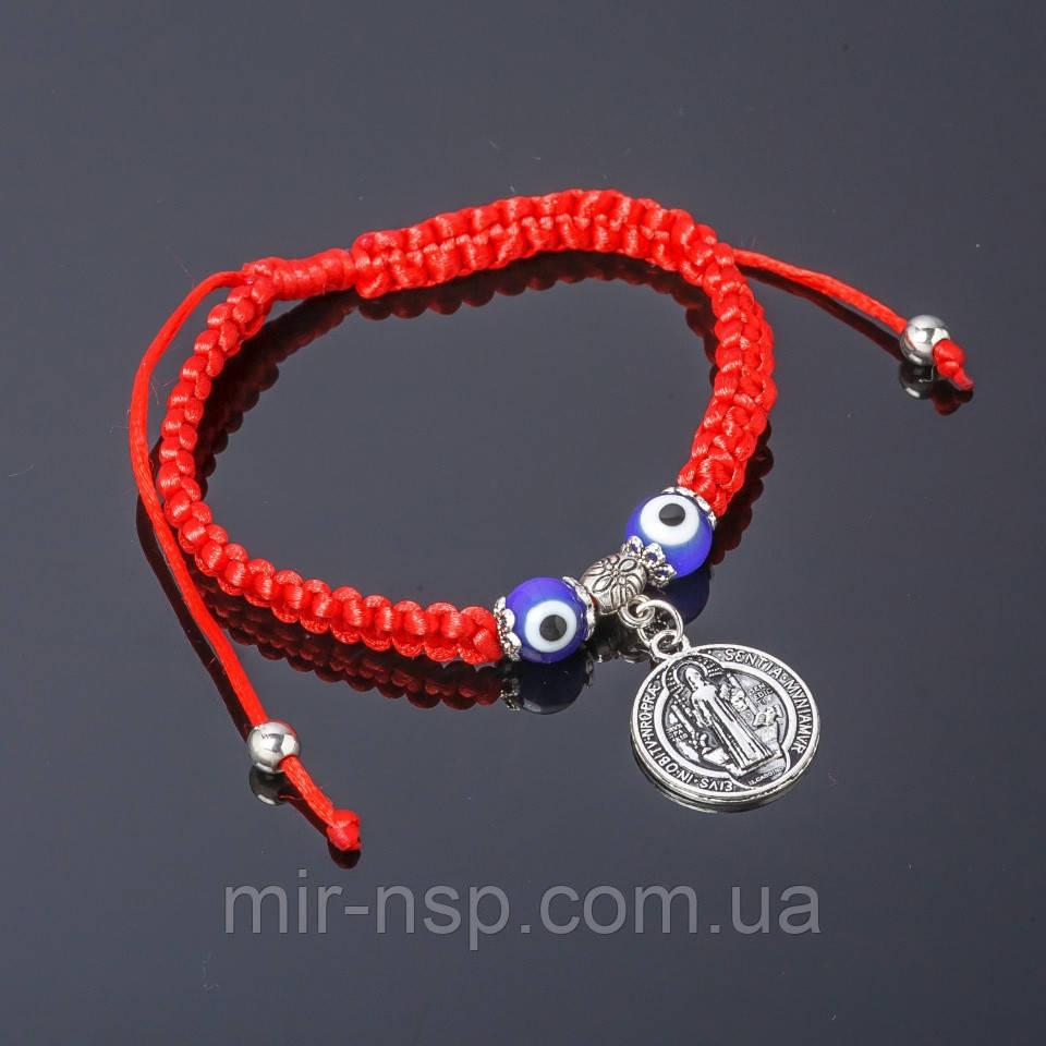 браслет шамбала красная с подвеской Sentia Mvniamvr продажа цена в
