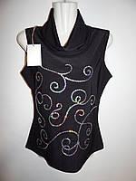 Блуза легкая фирменная женская FEMININE 48-50р.124ж
