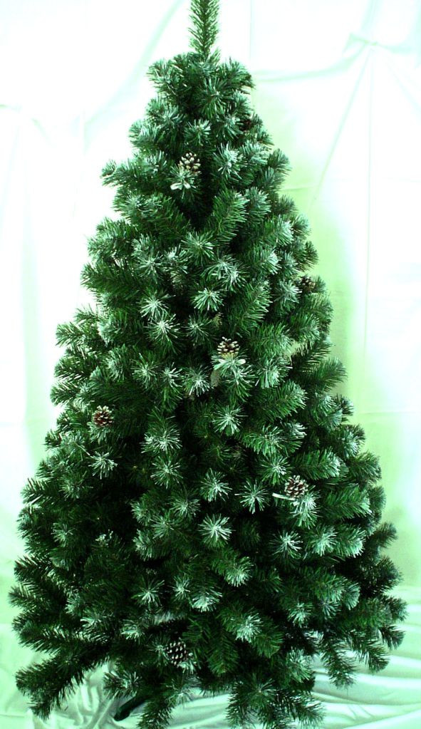 Ялинка штучна Дакота фарбована 2,2 м. гарна Різдвяна ялинка