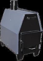 Печь буржуйка длительного горения ZUBR -ПДГ-15 ProTech, 3мм