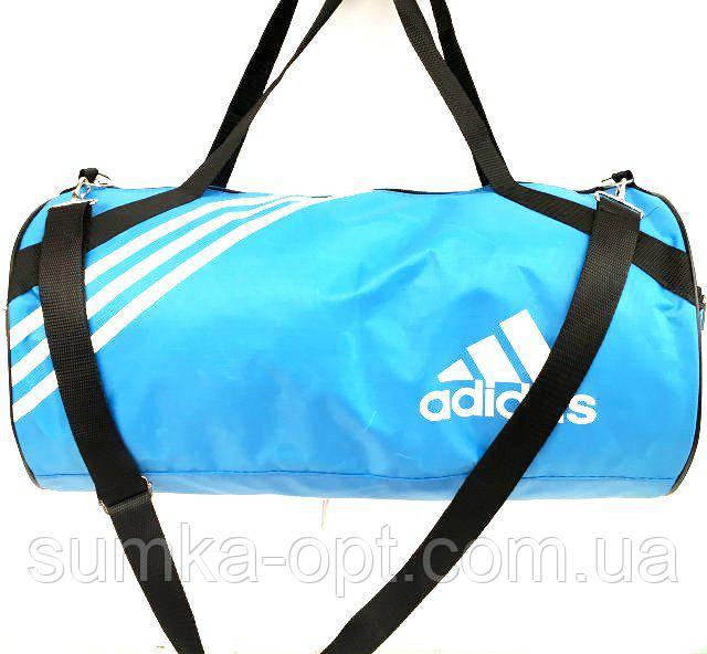 Сумки УНИВЕРСАЛЬНЫЕ для фитнеса Adidas (голубой плащевка)24*26