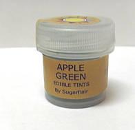 """Краситель пищевой сухой """"Зелёное яблоко"""" 5мл Sugarflair"""