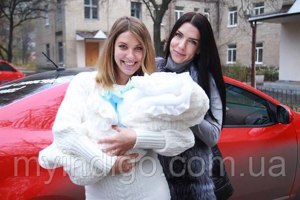 Прогулка с новорожденным в холодное время года