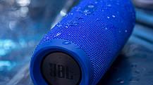 Беспроводная портативная колонка JBL Charge 3+ blue Реплика, фото 3