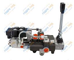 Гидрораспределитель Р80 3х секционный 80 л/мин (С электрогидравлическим управлением), фото 3