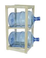Подставка деревянная под 2 бутыля Бук