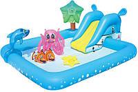 Надувной детский бассейн с игрушками BestWay