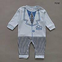 Человечек Смокинг для мальчика. 62, 74 см, фото 1