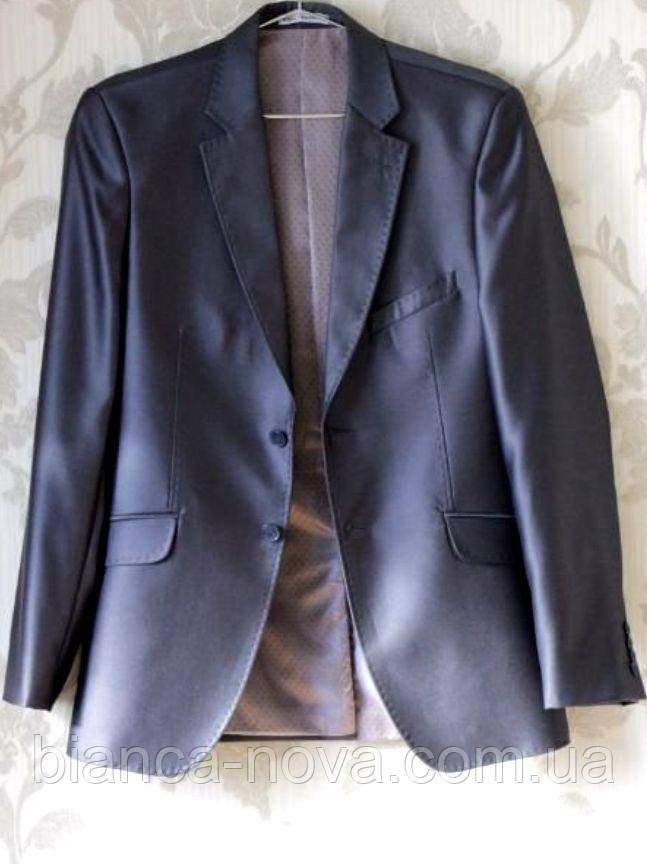 Пиджак мужской West fashion (т.серый)