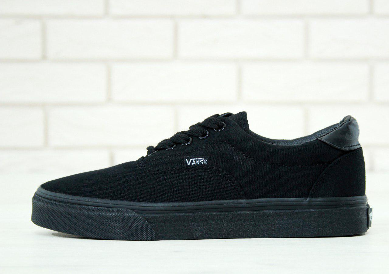 84a99c5958 Кеды в стиле Vans Era 59 All Black мужские