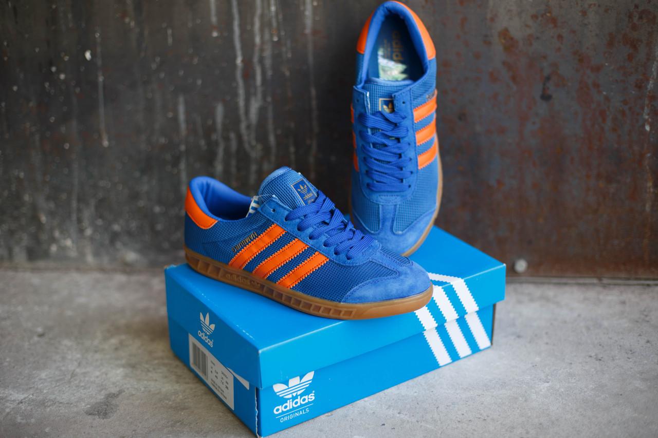 Кроссовки мужские Adidas Hamburg светло-синие