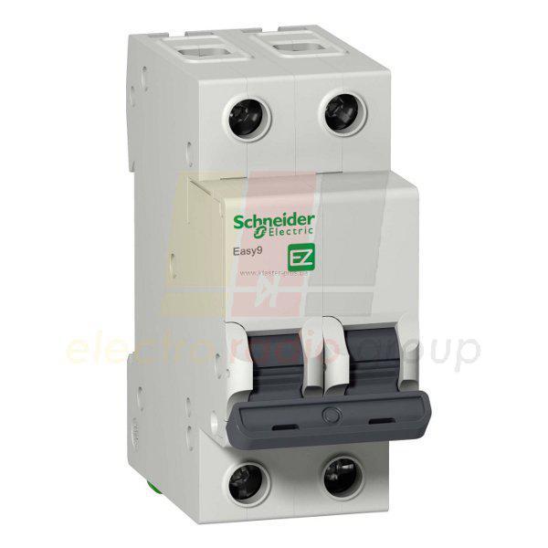 """EZ9 Автоматичний вимикач 2P, 25A, Х-КА """"С"""""""