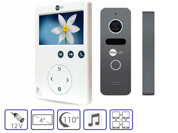 Комплект домофонной системы Neolight Tetta + Neolight SOLO, фото 2