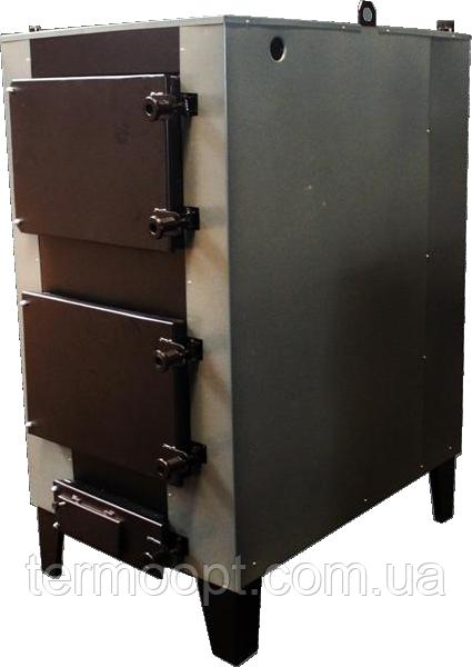 Котел твердотопливный Огонек КОТВ-145 Сталь 3 мм.