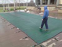 Защитное накрытие на бассейн