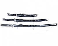 Набор самурайских мечей (3 штуки)на подставке