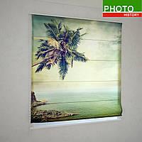 Римские фотошторы  пальма