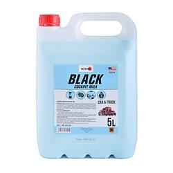 Nowax Black Cocpit Milk 5 L Полироль молочко для пластика (концентрат)